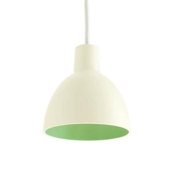 「トルボー120 デュオ」 ホワイト/グリーンLouisPoulsen(ルイスポールセン)ペンダント[天井照明/ペンダントライト/北欧照明/デザイナーズ/輸入]【Toldbod 120 Duo White/Green】:住まいの照明 ラ・ヴィータ