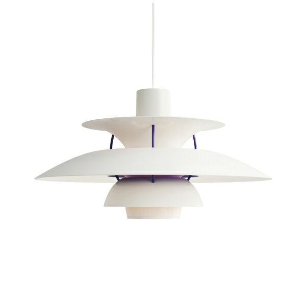 PH 5 クラシック・ホワイト (LED電球付)【最新モデル】Louis Poulsen ルイスポールセンプレゼント付(白熱電球150W/コード調節リール)【正規品】