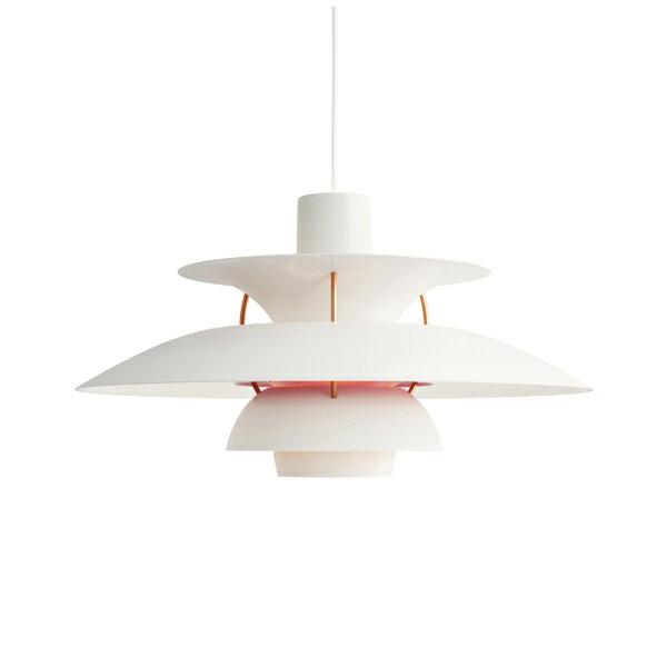 PH 5 モダン・ホワイト (LED電球付)Louis Poulsen ルイスポールセンプレゼント付(白熱電球150W/簡単調節コードリール)【正規品】
