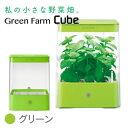 【送料無料】水耕栽培器 Green Farm Cube(グリーンファームキューブ)グリーンインテリアとしても楽しめるコンパクトな水耕栽培キット!…