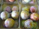 プラム生産量日本一の山梨県南アルプス市落合地区で高レベルで安全栽培された、完熟で甘いジューシープラム!超減農薬!完熟ソルダム 大玉2L 約2.8Kg8玉x4パック(計約32玉)厚芝さんが超減農薬で有機肥料100%で栽培