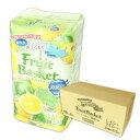 フルーツバスケット 消臭in トイレットペーパー レモン&ライムの香り 27.5m ダブル 96ロール(12ロール×8パック)【丸富製紙】【02589】