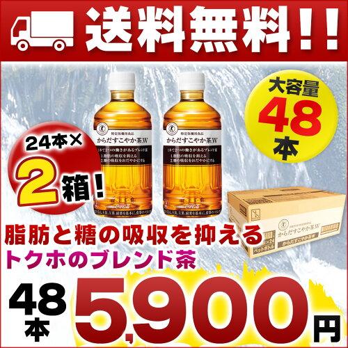 からだすこやか茶W 48本(24本×2ケース)【特保...
