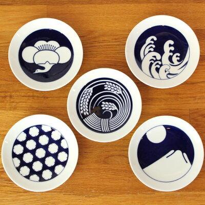 古来より伝わる日本の伝統模様をモダンにアレンジしたKOMONシリーズの豆皿です。KIHARA(キハラ)...