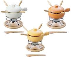 送料無料 チーズフォンデュ鍋セット K'dep(ケデップ) チーズフォンデュ鍋セット 13cmキャン...