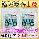 セスキ炭酸ソーダ 地の塩社 アルカリウォッシュ 500g×2個セット【...