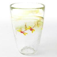 月夜野工房 グラス トンボ【ビアグラス ガラス ビールグラス 父の日 ギフト 父の日 プレゼント 父の日 ビールグラス 父の日 ビアグラス ビール グラス 麦茶 グラス ガラス コップ】
