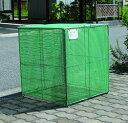 カンエツ ゴミステーション 大型ゴミ箱 折り畳み式ごみ収集ボックス K...