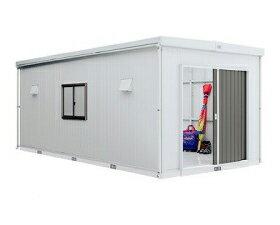 イナバ物置 モノパルテ KXN-201H 一般型 [収納庫/収納/屋外収納庫/屋外/倉庫/大型/中型/激安/価格/小屋/ガーデニング/庭/いなば/いなば物置/稲葉/ものおき/物置き]