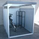 ダイマツ多目的万能物置 DM-11壁面パネルロング型 [収納/屋外収納/ガレージ/屋外/雨よけ/倉庫/価格/小屋/庭/スペース/自転車/設置/物置き]