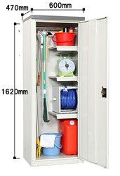 グリーンライフ物置扉式収納庫(ハーフ棚板仕様)TBJ-162HT幅600×奥行470×高さ1620mm※お客様組立品