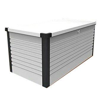 ガーデナップ 大容量屋外収納庫 パティオボックス TM7 ラージ ホワイト×アントラシット(WA) ※お客様組立品※受注生産品