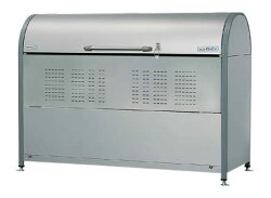 ヨドコウダストピットゴミ収集庫DPNC-1050(アジャスター付)幅1800×奥行700×高さ1285mm