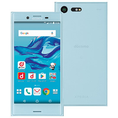 docomo Xperia X Compact SO-02J Mist Blue 新品 未使用 スマホ 白ロム 本体新品 未使用 Xperia ...