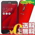 新品 未使用 Asus ZenFone Go ZB551KL-RD16 レッド【楽天版】 SIMフリー スマホ 本体 送料無料【当社6ヶ月保証】【中古】 【 携帯少年 】