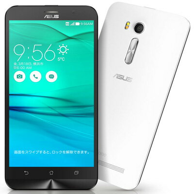 SIMフリー 未使用 Asus ZenFone Go ZB551KL-WH16 ホワイト【楽天版SIMフリー】【当社6ヶ月保証】 スマホ 中古 本体 送料無料【中古】 【 中古スマホとタブレット販売のイオシス 】