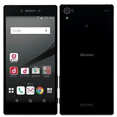 docomo Xperia Z5 Premium SO-03H Black 中古 スマホ 白ロム 本体中古 Xperia Z5 Premium SO-03H...