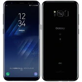 新品 未使用 SAMSUNG Galaxy S8+ SCV35 Midnight Black au スマホ 白ロム 本体 送料無料【当社6ヶ月保証】【中古】 【 携帯少年 】