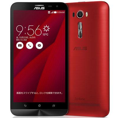 新品 ASUS ZenFone2 Laser 6.0 Dual ZE601KL-RD32S3 Red【RAM3GB/ROM32GB/国内版】 SIMフリー スマホ 本体 送料無料【当社6ヶ月保証】 【 中古スマホとsimフリー端末販売の携帯少年 】