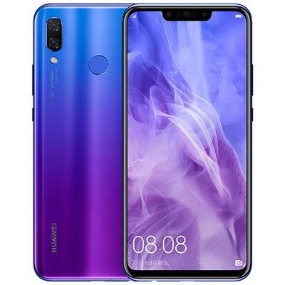 新品 未使用 simfree nova 3 Dual-SIM PAR-AL00【Purple 6GB 128GB 中国版】 本体新品 未使用 Hu...