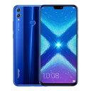 SIMフリー 未使用 Huawei honor 8X Dual-SIM 【Blue 6GB 128GB 中国版 SIMフリー】【当社6ヶ月保証】 スマホ 中古 本体 送料無料【中古】 【 中古スマホとタブレット販売のイオシス 】