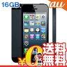 白ロム au iPhone5 LTE 16GB-CDMA ME039J/A ブラック[中古Aランク]【当社1ヶ月間保証】 スマホ 中古 本体 送料無料【中古】 【 携帯少年 】