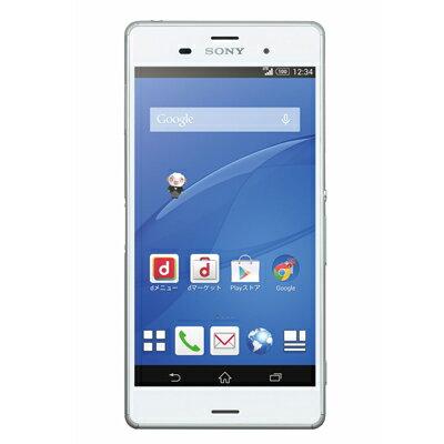 新品 未使用 Xperia Z3 SO-01G White docomo スマホ 白ロム 本体 送料無料