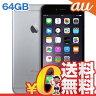 中古 iPhone6 Plus 64GB A1524 (MGAH2J/A) スペースグレイ au スマホ 白ロム 本体 送料無料【当社1ヶ月間保証】【中古】 【 携帯少年 】