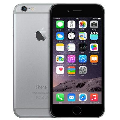 白ロム SoftBank 未使用 【ネットワーク利用制限▲】iPhone6 16GB A1586 (MG472J/A) スペースグレイ【当社1ヶ月間保証】 スマホ 中古 本体 送料無料【中古】 【 中古スマホとタブレット販売のイオシス 】