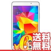 中古 GALAXY Tab4 【White 8GB】 SoftBank 7インチ アンドロイド タブレット 本体 送料無料【当社1ヶ月間保証】【中古】 【 携帯少年 】