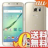 新品 未使用 Galaxy S6 edge SCV31 64GB Gold Platinum au スマホ 白ロム 本体 送料無料【当社6ヶ月保証】【中古】 【 携帯少年 】