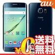 中古 Galaxy S6 edge SCV31 32GB Black Sapphire au スマホ 白ロム 本体 送料無料【当社1ヶ月間保証】【中古】 【 携帯少年 】