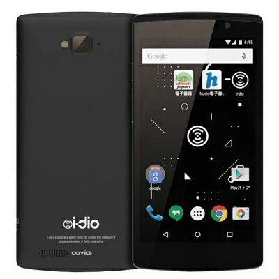 新品 未使用 simfree COVIA i-dio Phone CP-VL5A ブラック【国内版】 本体新品 未使用 COVIA i-d...