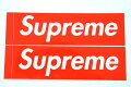 SUPREME���ƥå���STICKER