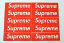 10枚セット 定番★Supreme シュプリーム ステッカー ボックスロゴ