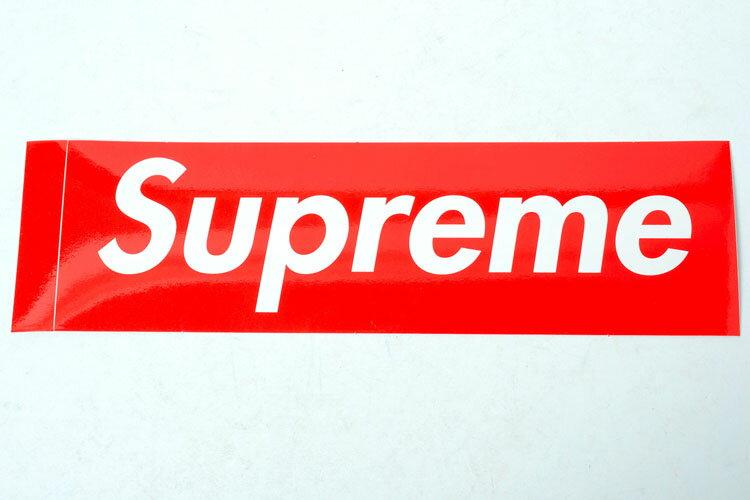 バッグ・小物・ブランド雑貨, その他 Supreme sticker box logo RED
