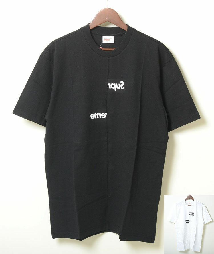 トップス, Tシャツ・カットソー SupremeComme des Garcons SHIRT Split Box Logo Tee T 2
