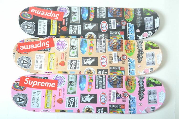 パーツ, デッキ Supreme Stickers Skateboard