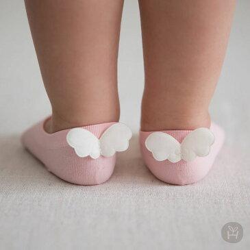 ベビーソックス ベビー靴下 靴下 子供用くつ下 HAPPY PRINCE 天使 ホワイト ピンク ミントグリーン ベビー baby KIDS キッズ 子供服 お出かけ セレモニー 結婚式 プレゼント 新生児 0歳 1歳