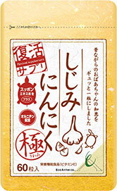 Shijimi Odorless Garlic Extreme(Famous Japanese supplement because It was sold total 1.5 million bags.)