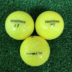 【中古】TOURSTAGE V10 2012年モデル スーパーイエロー 12球 【Aランク】【ロストボール】
