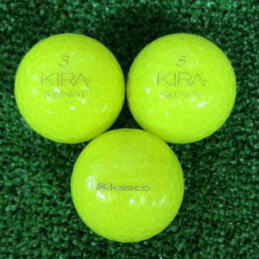【中古】kasco KIRA KLENOT 2012年モデル イエローダイヤモンド 12球【Aランク】【ロストボール】