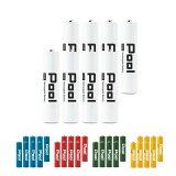 シリーズ累計販売数340万本突破! 充電池 単4 形 8本 セットPool プール 大容量950mAh!単4電池 電池 単4 エネループ エネロング を超える大容量 おもちゃ リモコン ライト 充電器 などに 防災 ネコポス送料無料