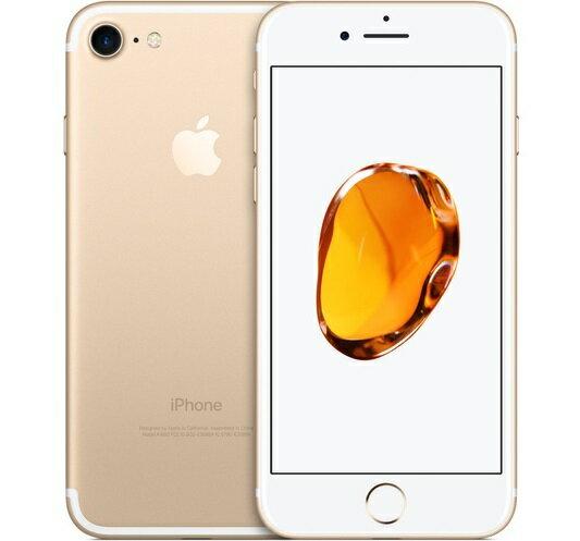 中古 Apple iPhone7 [Bランク ゴールド 32GB] 本体【赤ロム永久保証】【1ヶ月保証】楽天最安値【...