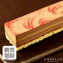 【糖質制限チョコレートケーキ】スリム・プラリネ・ノワゼット 長方形 約2〜3名様