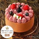 母の日 2021【チョコレートケーキ】ニルヴァナ4号(直径12cm) 約2〜4名