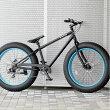 ファットバイクビーチクルーザー自転車26インチFATBIKEシマノ7段変速ディスクブレーキ【送料無料】但し沖縄・離島は除く