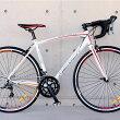 ロードバイクメリダMERIDA自転車700C軽量アルミシマノ16段変速クラリスSTIデュアルコントロールレバー