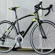 ロードバイク自転車アルミ軽量700Cシマノ14段変速シマノF/RディレーラーSTIデュアルコントロールレバーTOTEM15B408