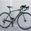 ロードバイク自転車アルミ軽量700CTOTEM22段変速シマノ105STIデュアルコントロールレバー